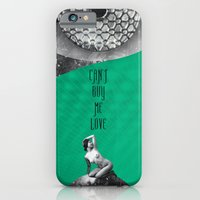 iPhone & iPod Case featuring Can't buy me Love (Rocking Love series) by Antigoni Chryssanthopoulou - inogitna