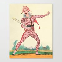 Harlequin Canvas Print