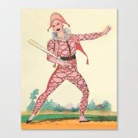 Harlequin Canvas Print