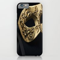 iPhone & iPod Case featuring Behind The Mask by Corinne Morris