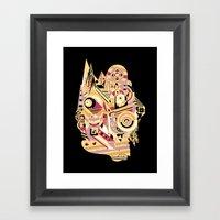 EL BARTO ~ BLACK Framed Art Print