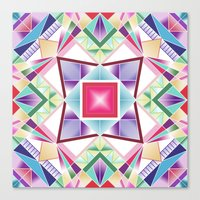 Prismatic Canvas Print