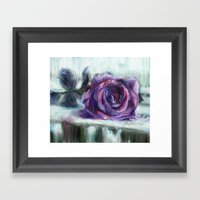 Frozen Time Framed Art Print