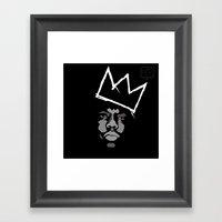 Biggie Basquiat Framed Art Print