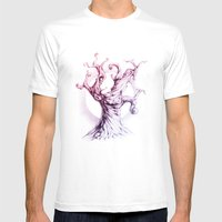 MusicTree Mens Fitted Tee White SMALL