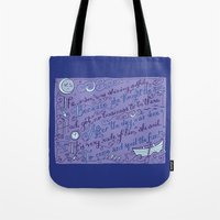 The Walrus and the Carpenter, Stanza 2 Tote Bag