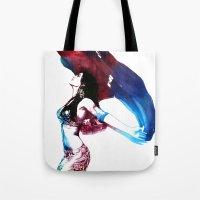 Rainbow Dancer Tote Bag