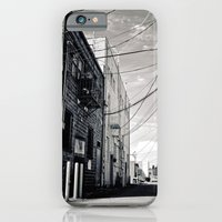 iPhone & iPod Case featuring Grit city alley by Vorona Photography