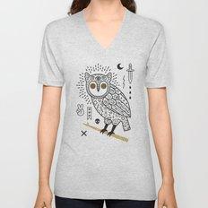Hypno Owl Unisex V-Neck