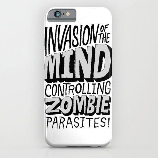 Zombie Parasites iPhone & iPod Case