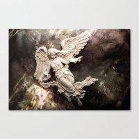 Ethereal Angel Art Canvas Print