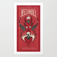 Jellyroll #7: Love Potio… Art Print