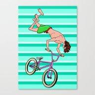 BMX Freestyle Canvas Print