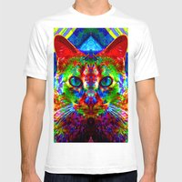 Sir Parker The Chromatic… Mens Fitted Tee White SMALL