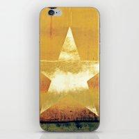 Worn & Weathered Star iPhone & iPod Skin