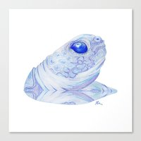 Snappy Sam - Drawing Canvas Print