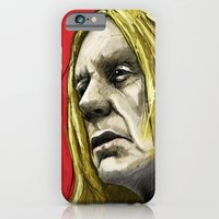 iPhone & iPod Case featuring Iggy tribute by Matteo Lotti