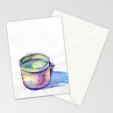 Pink Cup Stationery Cards
