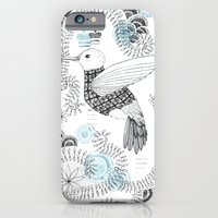 iPhone & iPod Case featuring Blue King 2 by Sonia Poli