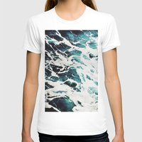 waves T-shirts featuring Waves by Jenna Davis Designs