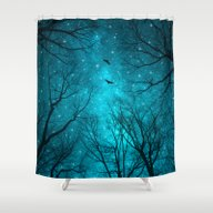 Shower Curtain featuring Stars Can't Shine Withou… by Soaring Anchor Desig…
