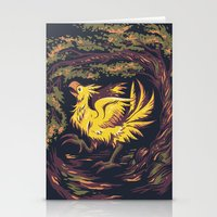 Chocobo with Blossoms Stationery Cards