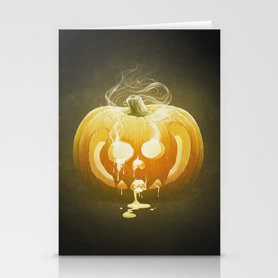 Pumpkin II. Stationery Card