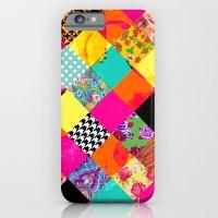Retro Squares iPhone 6 Slim Case