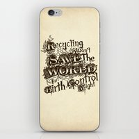 Recycling Wont Save The … iPhone & iPod Skin