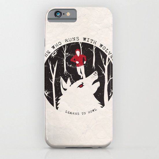 Sterek: He Who Runs With Wolves iPhone & iPod Case