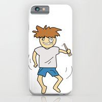 iPhone & iPod Case featuring Drunk by justang8
