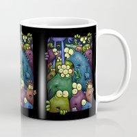 Crowded Aliens Mug