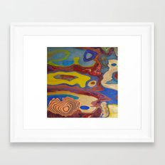 Different Versions Of The Same Thing Framed Art Print