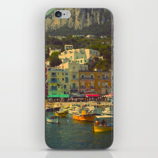 Capri, Italy iPhone & iPod Skin
