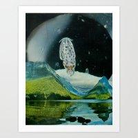 Milford Art Print