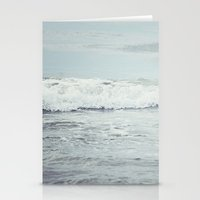 Silvery Sea Stationery Cards