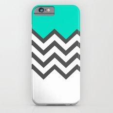 Color Blocked Chevron 9 Slim Case iPhone 6s