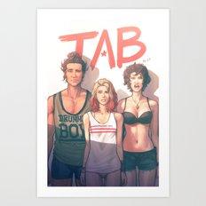 TAB - Bad Bed Head Art Print