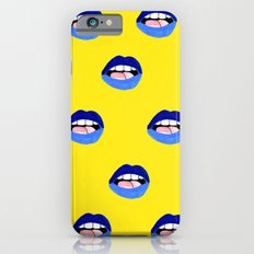 Blue Lips iPhone 6 Slim Case