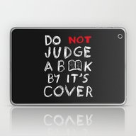 Do Not Judge A Book By I… Laptop & iPad Skin