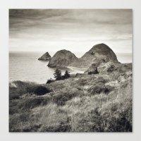 ... L'île Du Bout Du Mo… Canvas Print