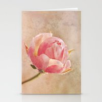 Pretty Little Rosebud. Stationery Cards