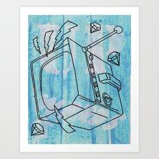 Upwards..... Art Print