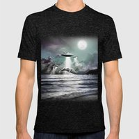 Whaling UFO Mens Fitted Tee Tri-Black SMALL