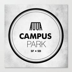 Campus Park Canvas Print