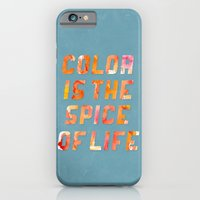 iPhone & iPod Case featuring Spice of Life by beware1984
