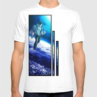Ornithopter Mens Fitted Tee White SMALL