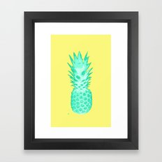 I love Pineapples #2 Framed Art Print
