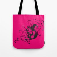 Squirrel Color Tote Bag