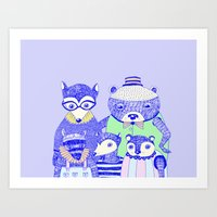 THE FAMILY PICTURE Art Print